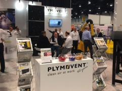 Come and see the innovations at the Plymovent booth at FabTech