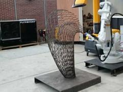 Plymovent sponsors MX3D to print a 3D steel bridge