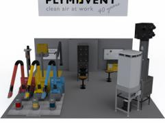 Come and see the innovations at the Plymovent booth N1832 at FabTech - Las Vegas!