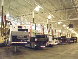 Capture vehicle exhaust gases at source from buses, coaches, light- and heavy-duty trucks.