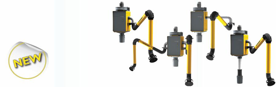 We are proud to introduce the WallPro welding fume extractor with automatic filter cleaning system.