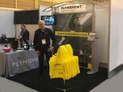 Plymovent exhibited at the NADA Convention & Expo