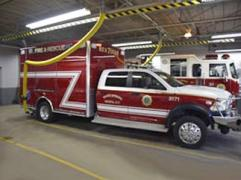 Fire department removes competing systems and upgrades to Plymovent