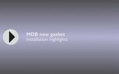 Installation video of Plymovent: MDB new gaskets installation highlights